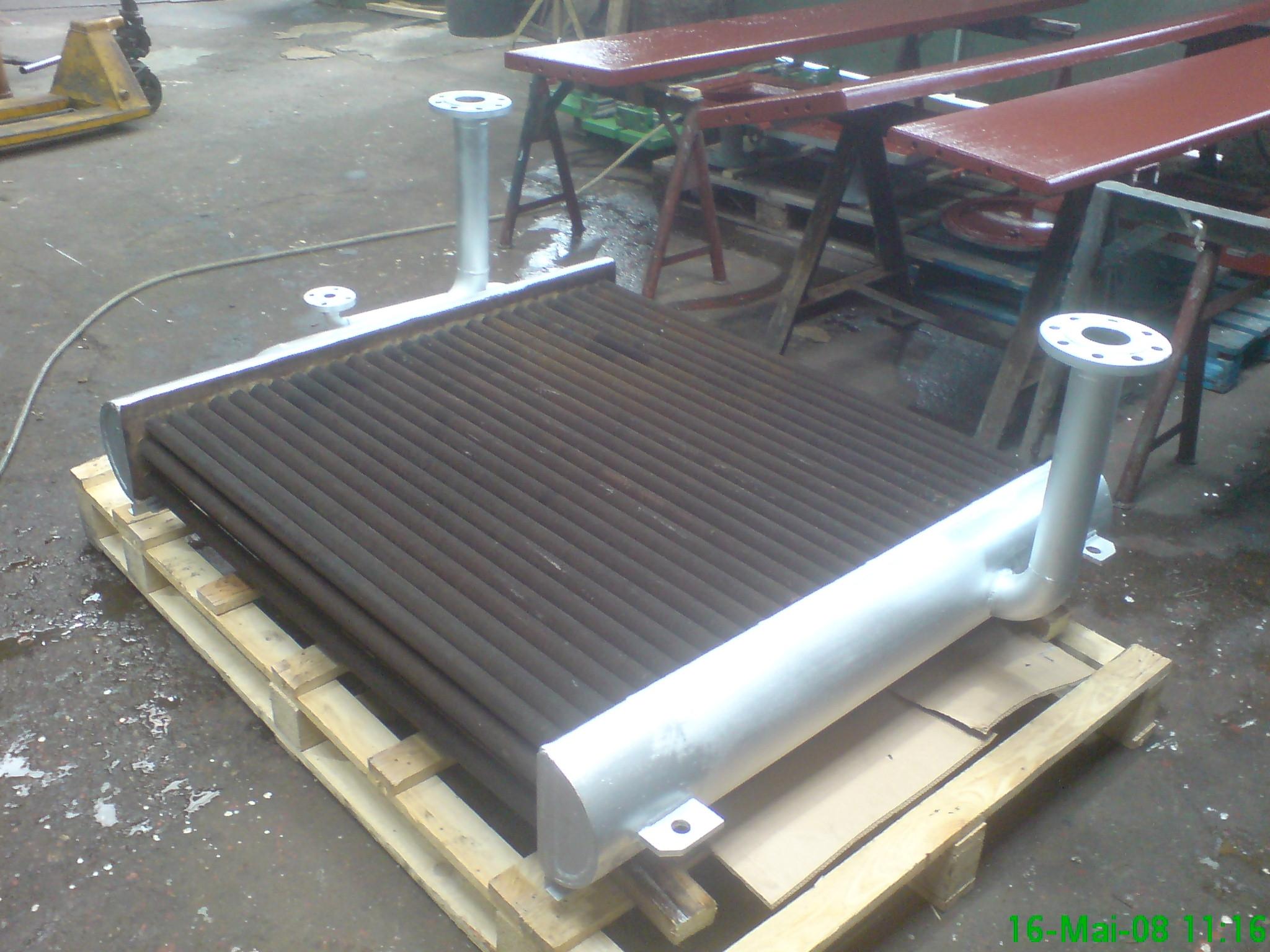 Reparatur Autoklav-Kühler