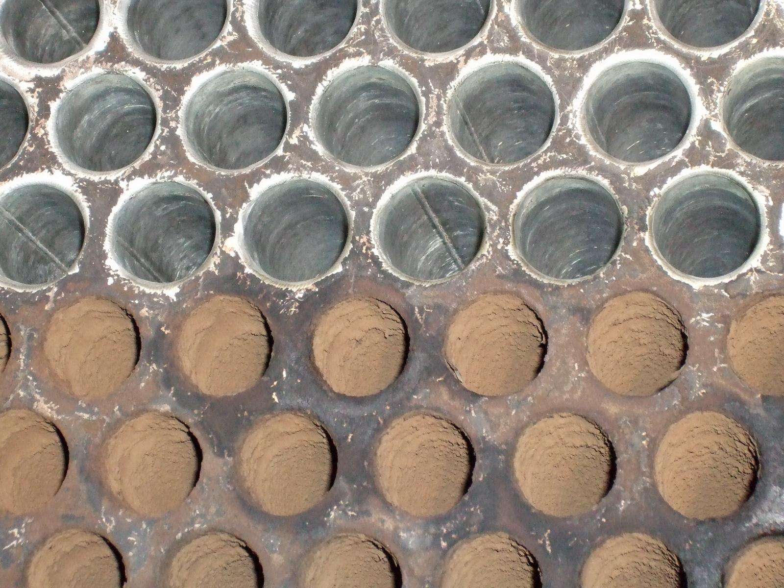 Reinigung Abgaswärmetauscher